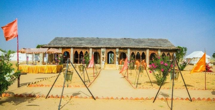1. Royal Desert Camp Restaurant