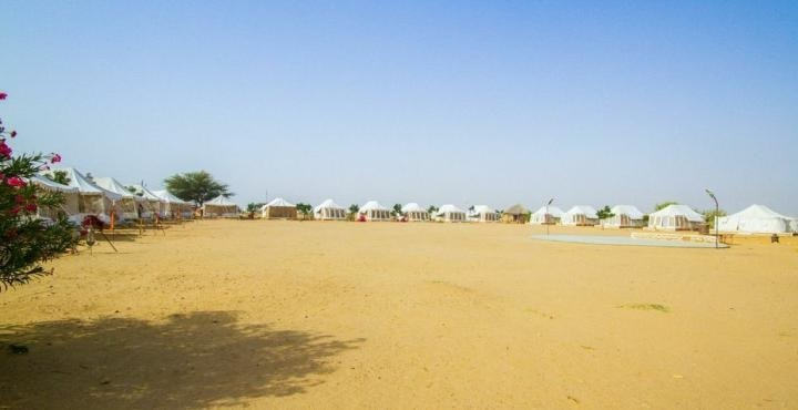 2. Royal Desert Camp external view