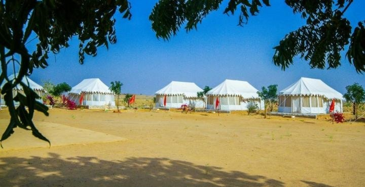 3. Royal Desert Camp external view