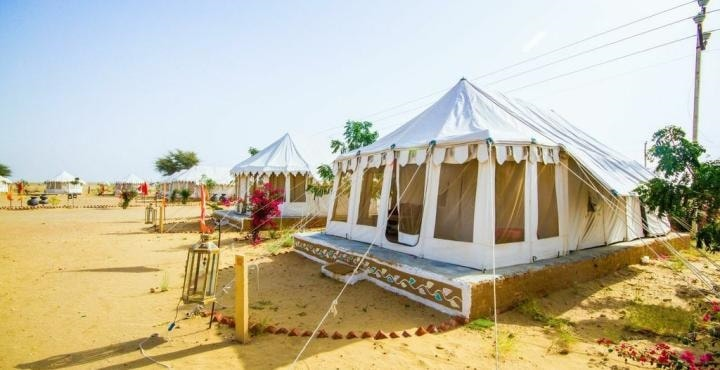 5. Royal Desert Camp external view